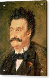 Johann Strauss The Younger, 1895 Acrylic Print