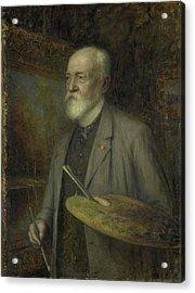 Johannes Gijsbert Vogel 1828-1915 Acrylic Print by Litz Collection