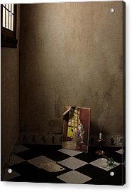 Acrylic Print featuring the photograph Johannes Vermeer Left by Levin Rodriguez