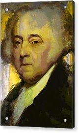 John Adams Acrylic Print by Corporate Art Task Force