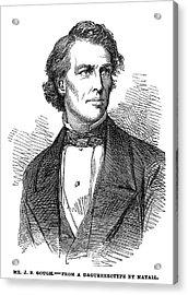 John Bartholomew Gough (1817-1886) Acrylic Print by Granger