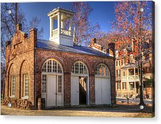 John Browns Fort - Harpers Ferry West Virginia - Modern Day Autumn Acrylic Print by Michael Mazaika