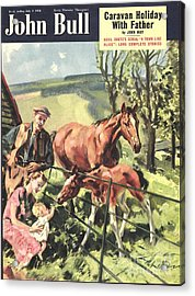 John Bull 1950 1950s Uk Horses Pets Acrylic Print by The Advertising Archives