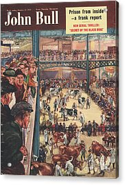 John Bull 1950 1950s Uk Smithfield Acrylic Print by The Advertising Archives