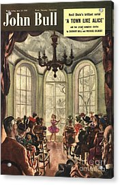 John Bull 1950s Uk Ballet Recitals Acrylic Print by The Advertising Archives