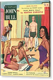 John Bull 1950s Uk Holidays Suntans Acrylic Print by The Advertising Archives