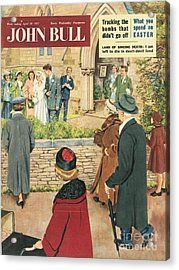 John Bull 1950s Uk Love Marriages Acrylic Print by The Advertising Archives
