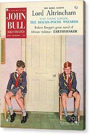 John Bull 1950s Uk Schools Magazines Acrylic Print by The Advertising Archives
