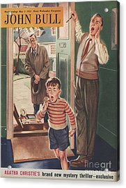 John Bull 1952 1950s Uk Travelling Acrylic Print by The Advertising Archives