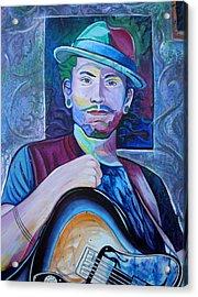 Acrylic Print featuring the painting John Butler by Joshua Morton