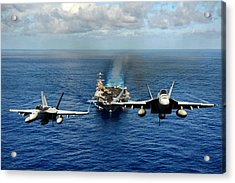 John C. Stennis Carrier Strike Group Acrylic Print by Mountain Dreams
