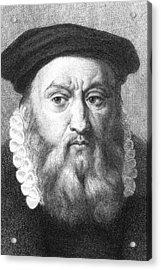 John Calvin Acrylic Print
