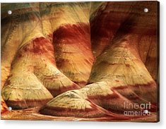 John Day Martian Landscape Acrylic Print by Inge Johnsson