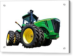 John Deere 9460r Acrylic Print by Olivier Le Queinec