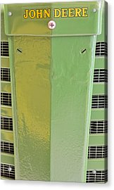 John Deere Grill Acrylic Print