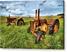 John Deere Tractors I - Blue Ridge Acrylic Print