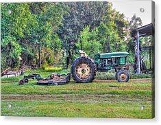 John Deere - Work Day Acrylic Print