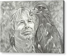 John Denver And Friend Acrylic Print