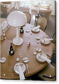 John Dickinson's Dining Table Acrylic Print