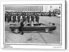 John F. Kennedy - 8 Acrylic Print