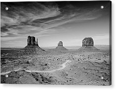John Ford View Of Monument Valley Acrylic Print