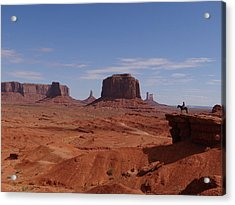 John Ford's Point In Monument Valley Acrylic Print