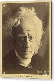 John Frederick William Herschel 1867 Acrylic Print by Getty Research Institute