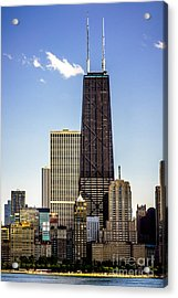 John Hancock Center Building In Chicago Acrylic Print by Paul Velgos