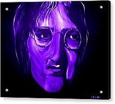 John Lennon 5 Acrylic Print by Mark Moore