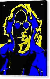 John Lennon Abstract  Acrylic Print by Steve K