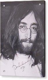 John Lennon Acrylic Print by Donna Wilson