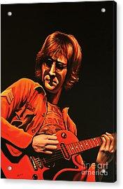 John Lennon Painting Acrylic Print by Paul Meijering