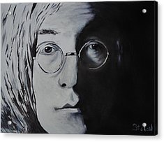 John Lennon Acrylic Print by Stefon Marc Brown