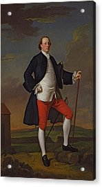 John Manners, Marquess Of Granby, 1745 Acrylic Print