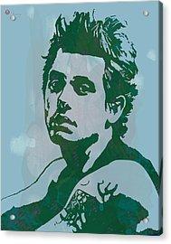 John Mayer - Pop Stylised Art Sketch Poster Acrylic Print by Kim Wang