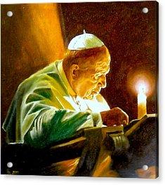 John Paul II Acrylic Print