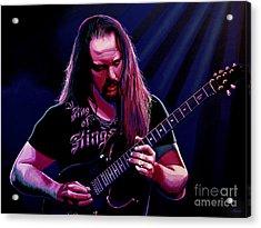 John Petrucci Painting Acrylic Print by Paul Meijering