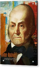 John Quincy Adams Acrylic Print by Corporate Art Task Force