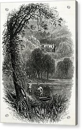 John Ruskin Home Of The English Art Acrylic Print by Mary Evans Picture Library