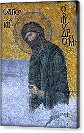 John The Baptist Acrylic Print by Stephen Stookey