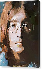 John The Beatles Acrylic Print