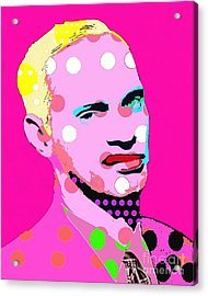 John Waters Acrylic Print by Ricky Sencion