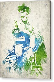 John Wayne  Acrylic Print by Aged Pixel