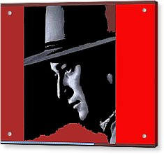 Acrylic Print featuring the photograph John Wayne As The Ringo Kid Stagecoach 1939-2013 by David Lee Guss