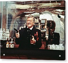 John Wayne In The Shootist Acrylic Print by Silver Screen