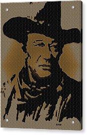 John Wayne Lives Acrylic Print by Robert Margetts