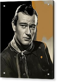 John Wayne  Publicity Photo In Costume Stagecoach 1939-2009 Acrylic Print