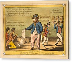 Johnny Bull And The Alexandrians  Wm Charles, Ssc. Charles Acrylic Print by Litz Collection