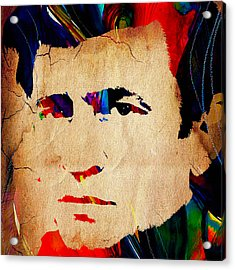 Johnny Cash Collection Acrylic Print