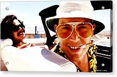Johnny Depp @ Fear And Loathing In Las Vegas Acrylic Print